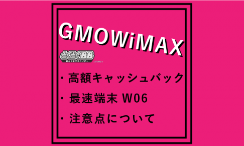 GMOWiMAX